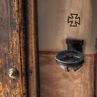 Holy Water Dish (San Diego Spanish Mission, California) by Brendon Perkins