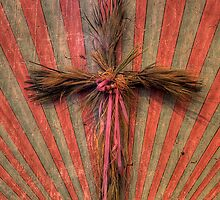 Reed Cross (San Miguel Spanish Mission, California) by Brendon Perkins