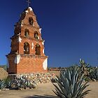 Mission Bell Tower (San Miguel Spanish Mission, California) by Brendon Perkins