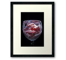 Berry Decadent! Framed Print