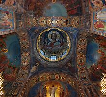 Internal, The Cathedral of Our Saviour on Spilled Blood, St Petersburg by inglesina