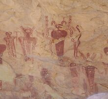 Sego Canyon Rock Art by SHickman
