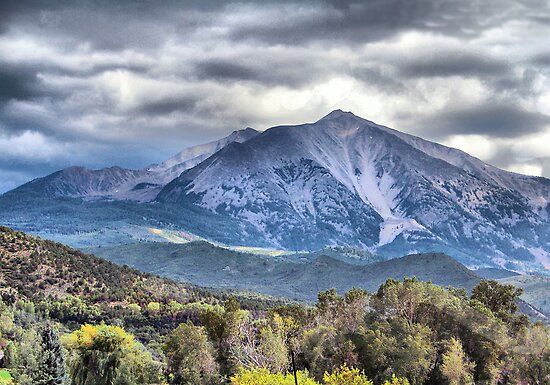 Mt. Sopris Carbondale Colorado by SHickman