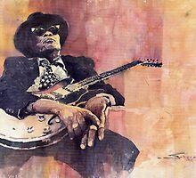 Jazz John Lee Hooker by Yuriy Shevchuk