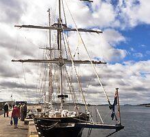 Tasmania - Wooden Boat Festival-Young Endeavour by Odille Esmonde-Morgan