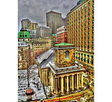 King's Chapel, Boston MA Photographic Print