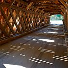 Inside a Covered Bridge by Joe Jennelle