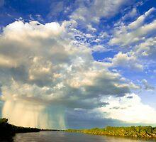 Gascoyne River - Carnarvon Western Australia by Stuart  Hardy