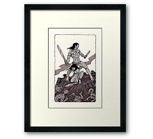 Besieged   Framed Print