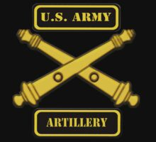 US Army Artillery T-Shirt by Walter Colvin