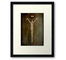 Because He Loves us...©  Framed Print