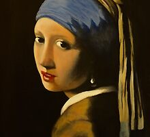 Girl with pearl earring by carss66