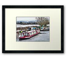 Lancaster Canal at Garstang  Framed Print