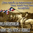 Werk word aanvaar/ Work has been accepted, banner. by Qnita