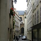 The winding alleys of Paris by Mats Janné