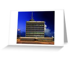 Fremantle Port Authority Building  Greeting Card