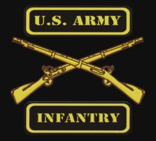 U.S. Army Infantry T-Shirt by Walter Colvin