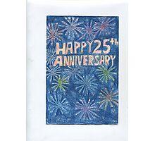 25th Anniversary Photographic Print