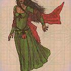 Celtic Sunrise Lady by HKBlack