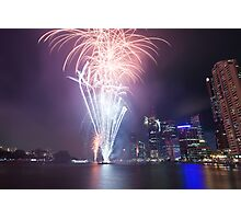 Riverfire in Brisbane | Queensland | Australia Photographic Print