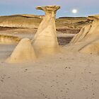 Bisti Badlands Panorama by TheBlindHog