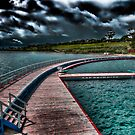 Eastern Beach Promenade - Geelong Victoria by shadesofcolor
