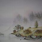 Mist on the River by Neil Jones