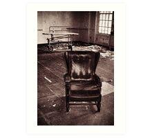 Take a seat and we'll talk Art Print