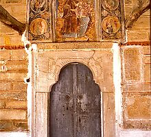 Chania Church Door by David Davies