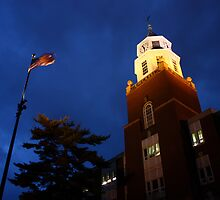 Pulliam Hall Clock Tower by Dan Owens
