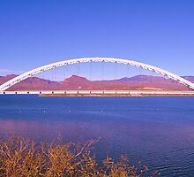 Roosevelt Lake Bridge by MaryLynn
