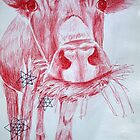 Thinking cow. by seriouslypotty