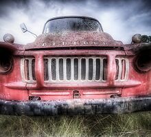 Red Bedford - HDR by clydeessex