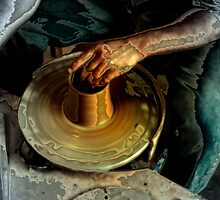The Potters Wheel  by ArtbyDigman