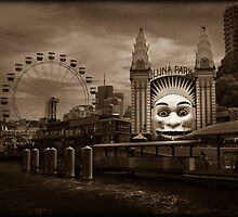 Luna Park by Manfred Belau