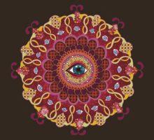 Cosmic Eye Mandala Tshirt by Thaneeya McArdle