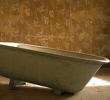 Empty Bath in Derelict House, Kolmanskop, Namibia by Lucy Heber-Percy