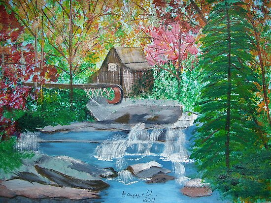 Old Watermill by maggie326