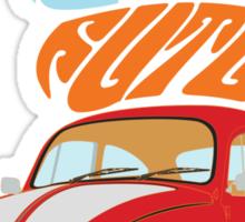 VW Beetle - Retro Is the Future Sticker