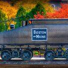 B&M Railroad by Monica M. Scanlan