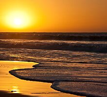 Kotu beach sunset by Shaun Whiteman