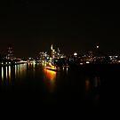 Frankfurt skyline by heinrich