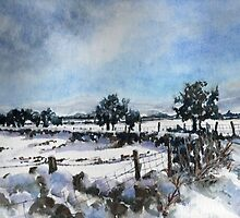 Easter snow in Skipton by Patricia Sabin