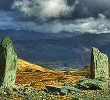 Upper Borrowdale From Honister by Jamie  Green