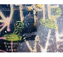 Blimpin' Ain't Easy (wide) Photographic Print