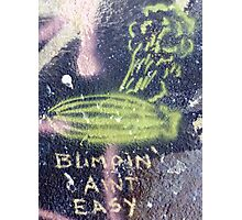 Blimpin' Ain't Easy (close) Photographic Print