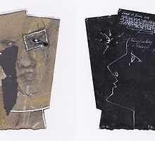 Idées blanches : Double-face n°1- Recyclage n°5 by Pascale Baud