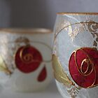 Rose Candles by Kareena  Kapitzke