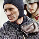 Norman Knight Dressing for Battle by Guy Carpenter