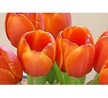 Loving Orange Photographic Print